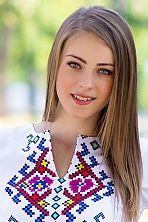 Ukrainian girl Irina,21 years old with  eyes and  hair.