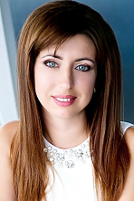 Ukrainian girl Inna,34 years old with green eyes and dark brown hair.