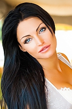 Ukrainian girl Diana,30 years old with blue eyes and black hair.