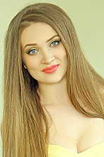 Ukrainian girl Irina,24 years old with blue eyes and light brown hair.