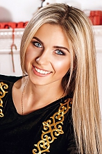 Ukrainian girl Marina,23 years old with blue eyes and blonde hair.