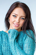 Ukrainian girl Natalia,33 years old with blue eyes and dark brown hair.