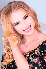 Ukrainian girl Vlada,21 years old with green eyes and blonde hair.