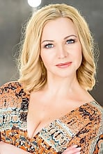 Ukrainian girl Anzhela,41 years old with blue eyes and blonde hair.