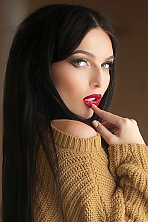 Ukrainian girl Elena,23 years old with brown eyes and dark brown hair.