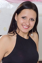 Ukrainian girl Elena,30 years old with brown eyes and dark brown hair.