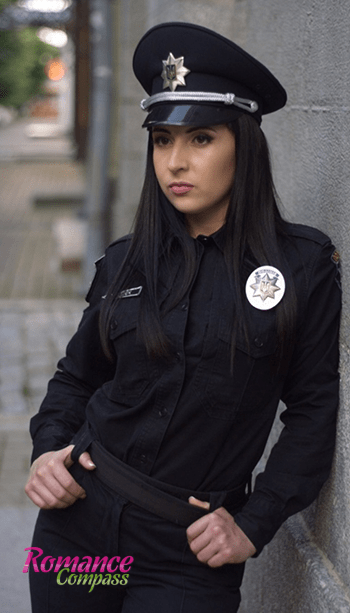 hot women police officer
