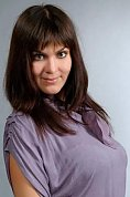 Ukrainian girl Victoria,42 years old with brown eyes and dark brown hair.