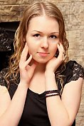 Ukrainian girl Alyona,28 years old with brown eyes and blonde hair.
