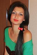 Ukrainian girl Tanya,24 years old with grey eyes and black hair.