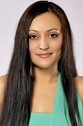 Ukrainian girl Natasha,35 years old with black eyes and black hair.