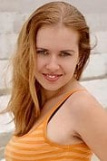 Ukrainian girl Alina,27 years old with green eyes and blonde hair.