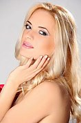 Ukrainian girl Alena,30 years old with blue eyes and blonde hair.