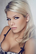 Russian girl Alina,28 years old with blue eyes and blonde hair.