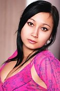 Ukrainian girl Anna,32 years old with brown eyes and black hair.