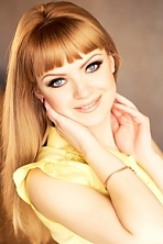 Ukrainian girl Marina,26 years old with blue eyes and light brown hair.