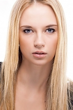 Russian girl Marina,26 years old with blue eyes and blonde hair.