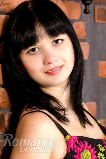 girl Tatiana, years old with  eyes and  hair.