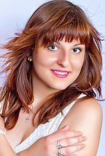 Ukrainian girl Olga,22 years old with blue eyes and light brown hair.