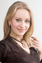 girl Nadya, years old with  eyes and  hair.