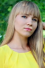 girl Elizaveta, years old with  eyes and  hair.