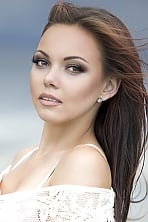 Ukrainian girl Sofiya,20 years old with hazel eyes and dark brown hair.