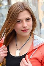 Ukrainian girl Yana,23 years old with brown eyes and dark brown hair.