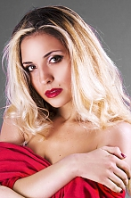 Ukrainian girl Lyudmila,27 years old with brown eyes and blonde hair.