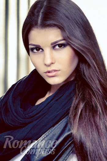 girl Ruslana, years old with  eyes and  hair.
