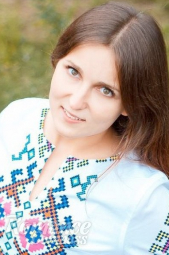 Ukrainian girl Alena,23 years old with green eyes and light brown hair.