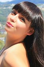 Ukrainian girl Viktoria,27 years old with brown eyes and dark brown hair.