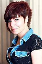 Russian girl Natalie,38 years old with grey eyes and dark brown hair.