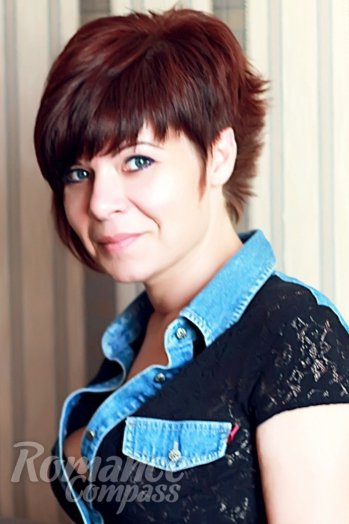 Russian girl Natalie,39 years old with grey eyes and dark brown hair.