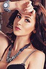 Ukrainian girl Larisa,23 years old with green eyes and light brown hair.