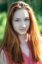 Ukrainian girl Olga,18 years old with green eyes and light brown hair.