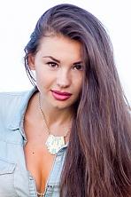 Ukrainian girl Valeriya,25 years old with brown eyes and dark brown hair.